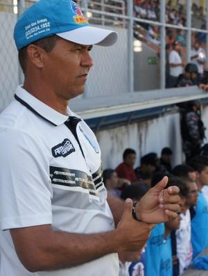 Ramiro Sousa, técnico do CSP (Foto: Lucas Barros)