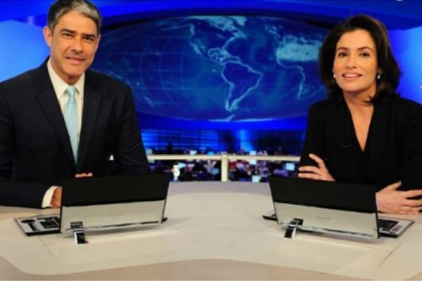 Jornal Nacional vai ao ar às 20h40 nesta quinta-feira (12) (Foto: TV Globo)