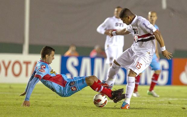 Denilson São Paulo Arsenal de Sarandí Libertadores (Foto: EFE)