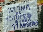 Ato de repúdio ao estupro de jovem no Rio acontece na Av. Paulista
