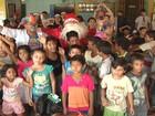 Projeto 'Natal do Bem' atende 70 famílias do bairro Vigia em Santarém