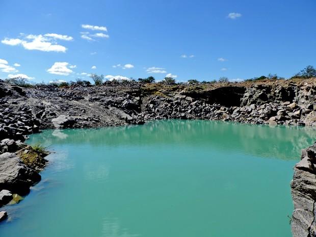 Beleza da paisagem tem atraído diversos visitantes (Foto: Narcizo Veras/Arquivo Pessoal)