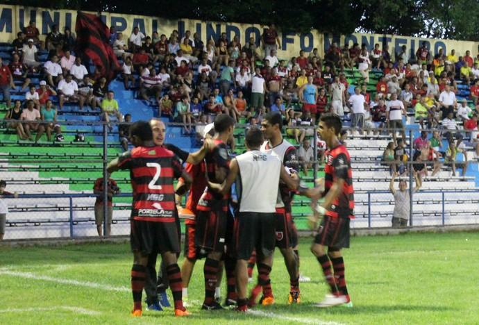 Dênis Borges; Flamengo-PI; Campeonato Piauiense; treinador; 2014 (Foto: Náyra Macêdo/GLOBOESPORTE.COM)