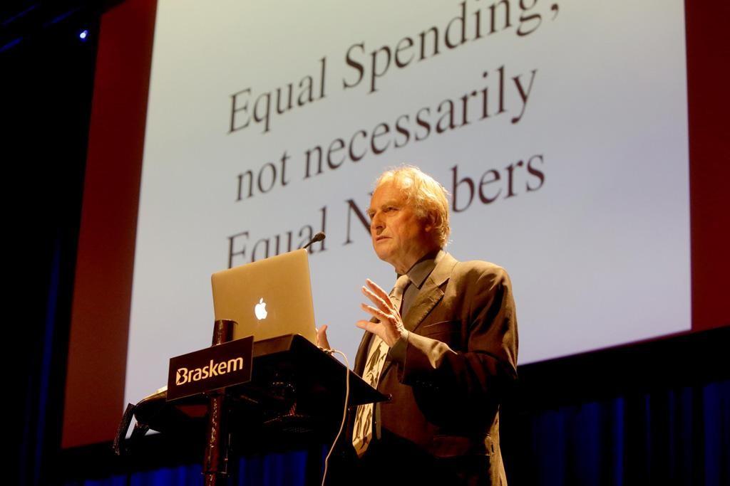 Dawkins falou sobre a corrida armamentista evolutiva (Foto: Divulgação)