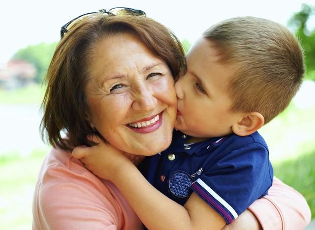 avó, neto, felicidade (Foto: ThinkStock)