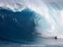 """Bodyboarder brasileiro pega paredão de 14m em Jaws e diz: """"Muito medo"""""""