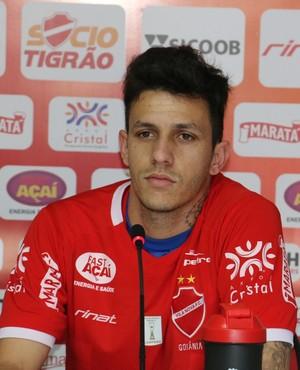 Jean Carlos - meia Vila Nova (Foto: Comunicação / Vila Nova)