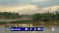 Alta temperatura e a pancada de chuva pode vir acompanhada com raios