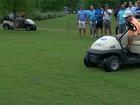 Cobra invade campo e interrompe torneio de golfe nos EUA