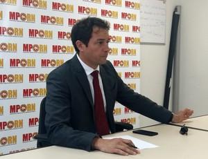 RN - Luiz Eduardo Marinho, promotor de justiça  (Foto: Jocaff Souza/GloboEsporte.com)