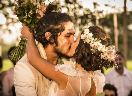 Últimos capítulos: Miguel e Olívia se casam