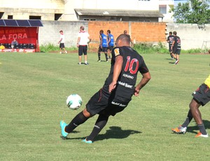 Adriano treino do Flamengo (Foto: Fred Huber / Globoesporte.com)