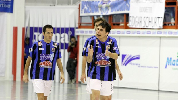 Luiz Paulo Caetano, jogador de futsal da Itália que pode jogar Copa TV TEM (Foto: Divulgação)