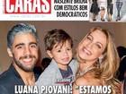 Luana Piovani fala a revista sobre Scooby: 'Reavaliando o casamento'