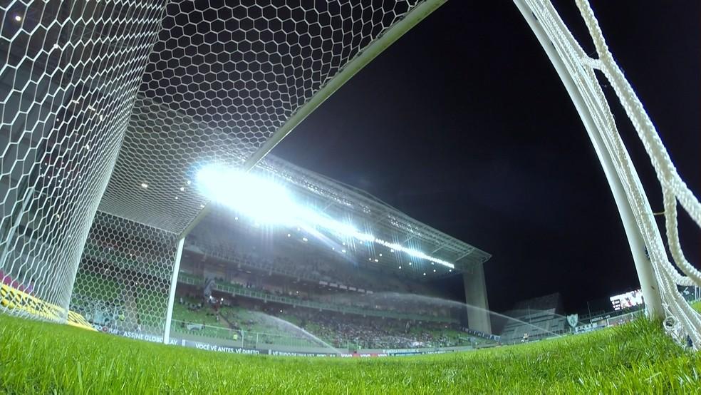 No Independência, Galo tem uma vitória, um empate e duas derrotas no Brasileirão (Foto: Reprodução/Premiere)