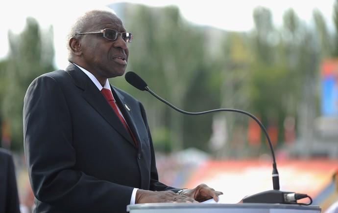 Atletismo Lamine Diack presidente IAAF  (Foto: Getty Images)