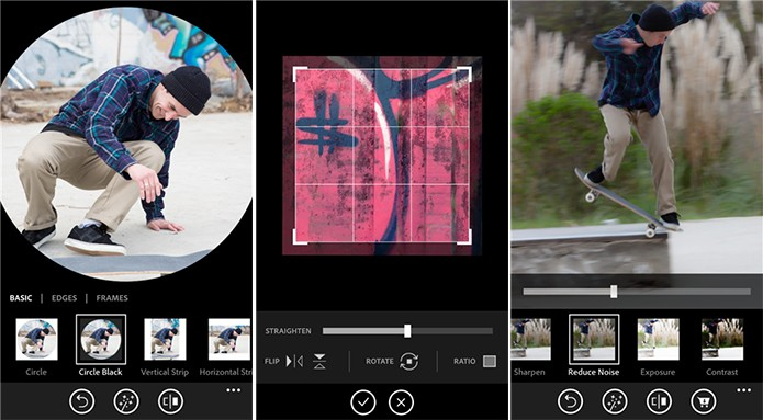 Photoshop Express para Windows Phone está com todos os filtros gratuitos por tempo limitado (Foto: Divulgação/Windows Phone Store)