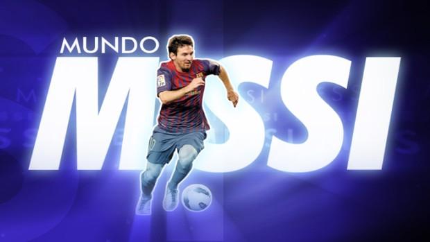 Mundo  Messi no Esporte Espetacular (Foto: Reprodução TV Globo)