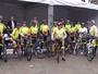 JT1: Ciclistas fazem desafio de 230 km para arrecadar cestas básicas