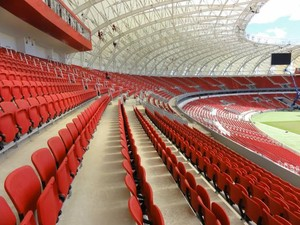 cadeira Beira-Rio Inter (Foto: Carmem Lopes / RBS TV)