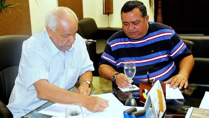 Antonio Silva e Ivan Guimarães, amazonas (Foto: Divulgação)