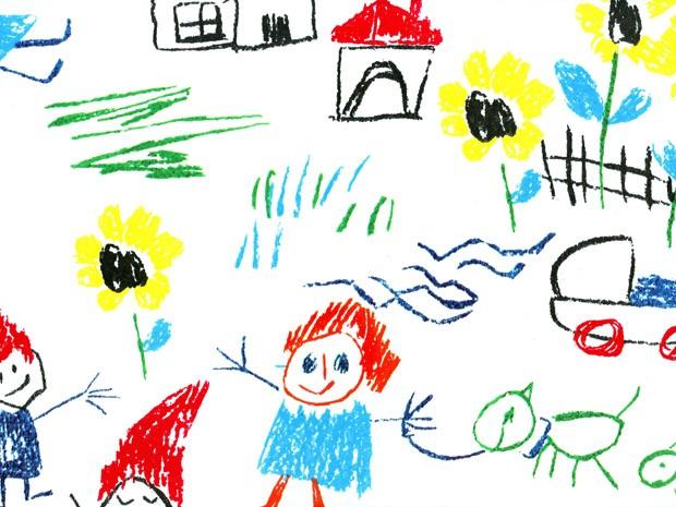 Crianças podem pedir ajuda através de desenhos. Fique atento! (Foto: Banco de Imagens Stock.xcng)