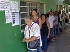 Candidatos a prefeito votam em Corumbá, MS