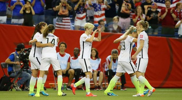 Carli Lloyd  gol Estados Unidos x Alemanha Mundial Feminino (Foto: Reuters)