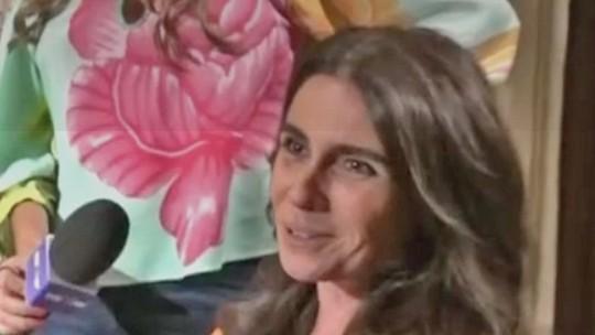 Giovanna Antonelli entrega elenco de 'Sol Nascente' em cenas com comida: 'Boca nervosa'