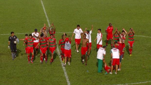 9786d5c686aa6 Jogadores do Velo Clube comemoram vitória na Copa São Paulo de Futebol  Júnior (Foto