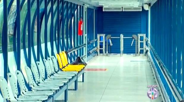 Em Natal, as novas estações de transferência de passageiros devem entrar em funcionamento neste sábado (Foto: Reprodução/Inter TV Cabugi)