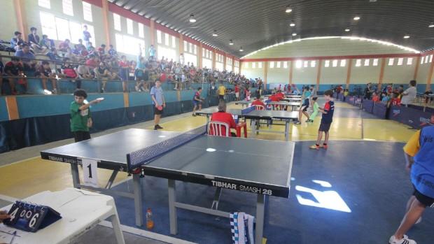 Torneio do Ranking Paulista de Tênis de Mesa Guarujá (Foto: Pedro Rezende / Prefeitura de Guarujá)