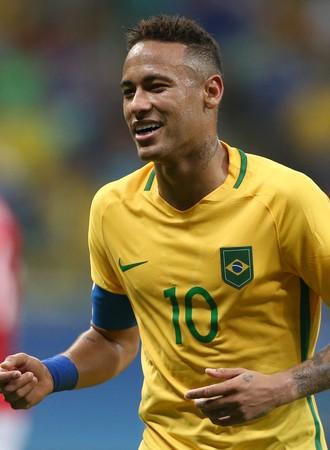 Neymar Brasil x Dinamarca (Foto: Lucas Figueiredo / MoWA Press)