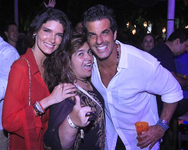 Lou Montenegro, Marta Medeiros e Álvaro Garnero (Foto: Fred Pontes/ Divulgação)