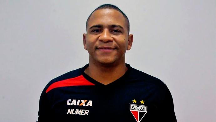 Walter - atacante do Atlético-GO (Foto: Divulgação)