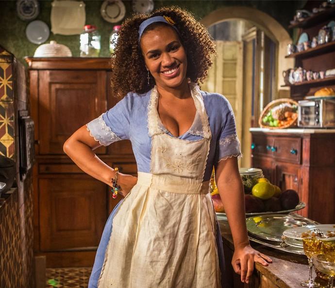 Mariene de Castro é Dalva em 'Velho Chico' (Foto: Inácio Moraes/ Gshow)