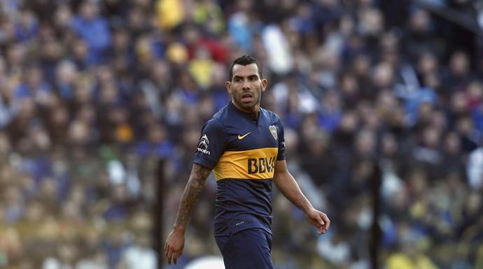 Boca Juniors x Quilmes Tevez (Foto: Reuters)