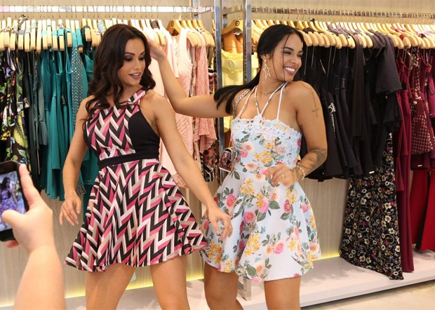 Mayara Motti e Fernanda D'Avila (Foto: Thais Aline/ Agência Fio Condutor)