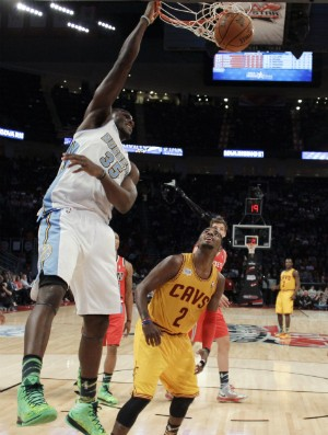 Kenneth Faried, All Star Game - AP (Foto: AP)