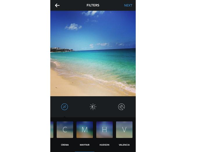 Mayfair é um filtro bastante interessante para fotos de praias (Foto: Reprodução/Aline Jesus)