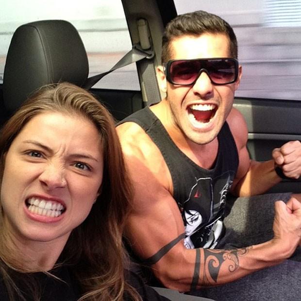 Angela Sousa e Yuri (Foto: Instagram / Reprodução)