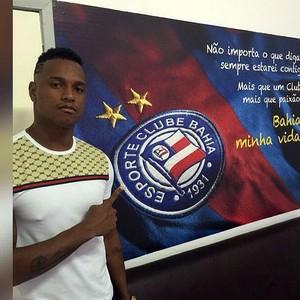 Gabriel Valongo; Bahia (Foto: Reprodução)