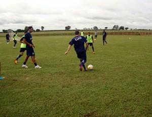 Guarani treino Penápolis (Foto: Marcelo Tasso / Guarani FC)