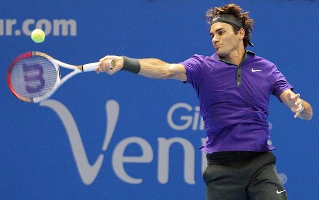 Tênis Federer x Tsonga (Foto: Moisés Nascimento / Ag. estado)