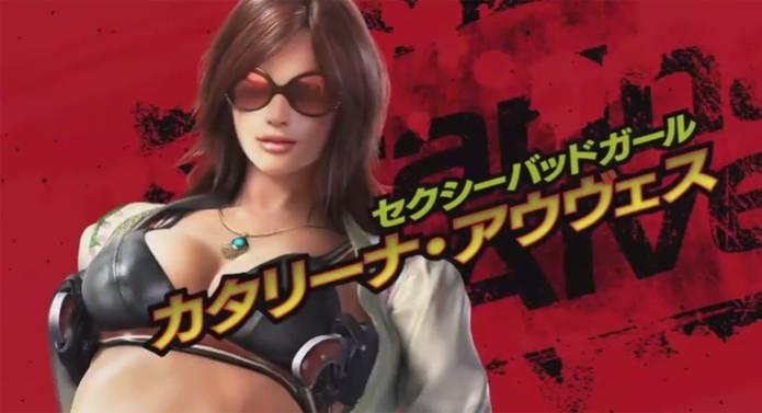 Katarina é a brasileira de Tekken 7 (Foto: Divulgação) (Foto: Katarina é a brasileira de Tekken 7 (Foto: Divulgação))