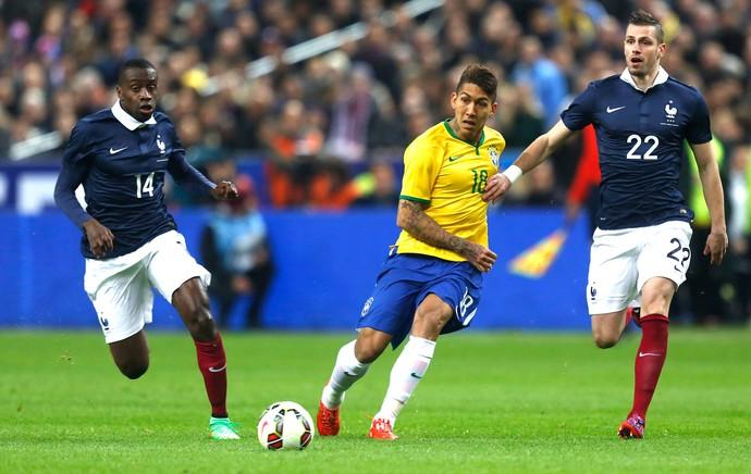 Firmino, França X Brasil (Foto: Bruno Domingos / Mowa Press)