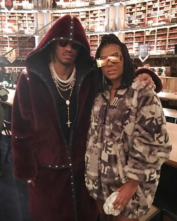 Ludmilla e o rapper Future (Foto: Reprodução / Instagram)