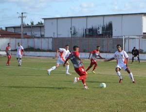 América-RN - jogo-treino - jogadores - Safern (Foto: Jocaff Souza/GloboEsporte.com)