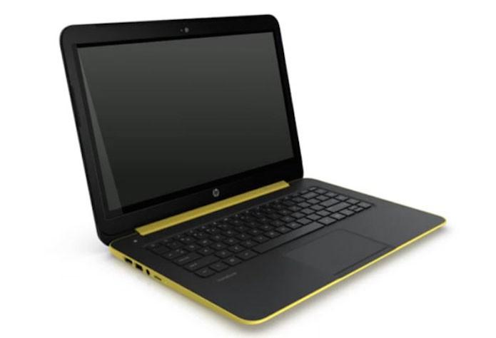 Notebook da HP com tela touch rodando Android, vaza em foto (Foto: Reprodução/Notebook Italia)