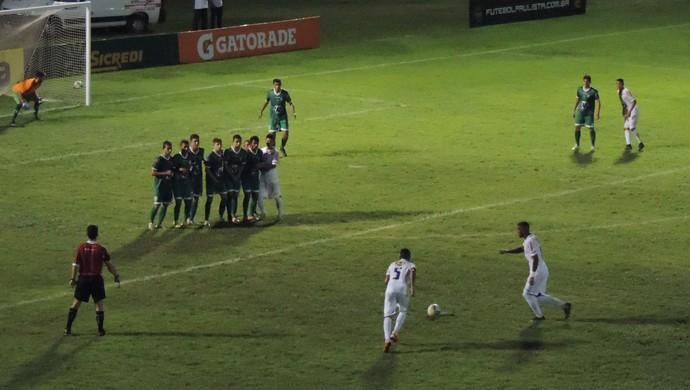 Cruzeiro x Vitória da Conquista, pela Copa SP de Futebol Júnior (Foto: Sérgio Pais)